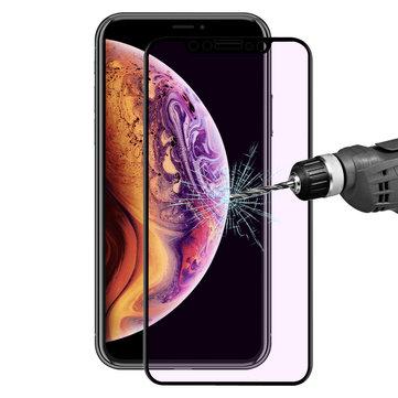 Enkay Anti Blue Light herdet glass skjermbeskytter for iPhone X / iPhone XS / iPhone 11 Pro 0.2mm 3D buet kant
