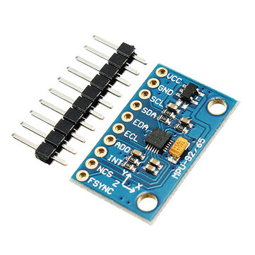 MPU-9250 GY-9250 9 Axis Sensor Module I2C SPI Communication Board Geekcreit for Arduino - products that work with official Arduino boards