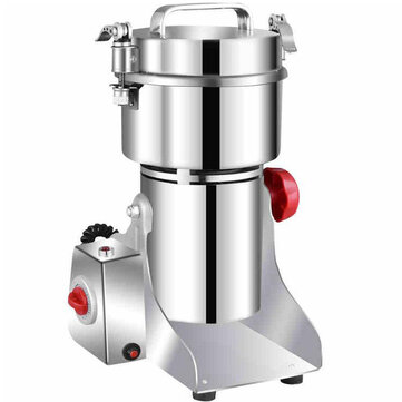 $89.99 for JUSTBUY 800A 2500W 800g Electric Grains Spices Cereal Dry Food Grinder Mill Grinding Machine Stainless Steel Blender