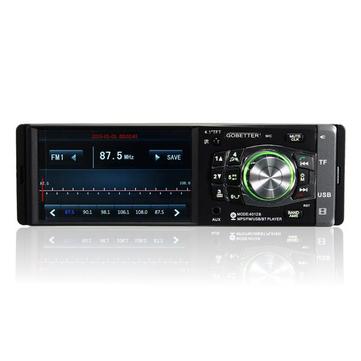 4.1 inch Tay cầm tay miễn phí Đài phát thanh stereo MP3 MP4 Player Bluetooth Điều khiển bánh xe FM USB