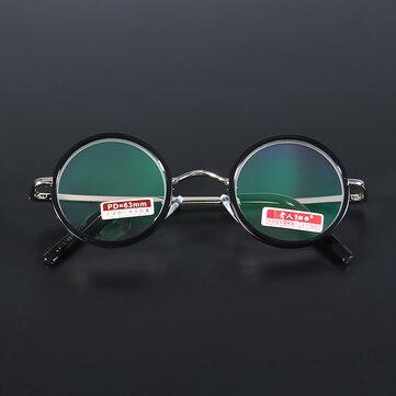 KCASAレトロラウンドライトウェイト拡大ベストリーディングメガネ疲労緩和強度