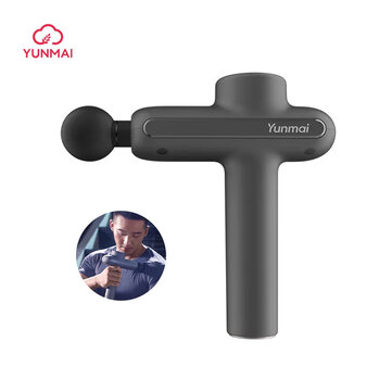 YUNMAI Electric Fascia Massager Pro Basic 3200Rpm 3 Gears Muscle Soothing Pain Relief Device W or 4 Heads From Xiaomi Youpin