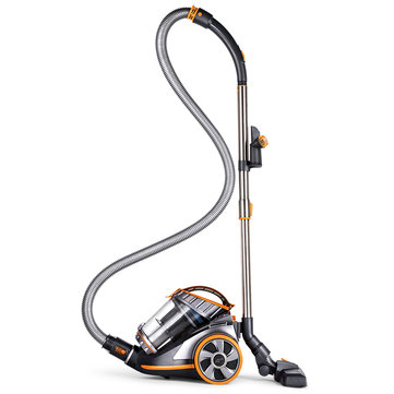 PUPPYOO WP9005B Cyclonic Bagless Canister Vacuum Cleaner Large Suction Capacity Powerful Aspirator Multifunctional Cleaning Appliances