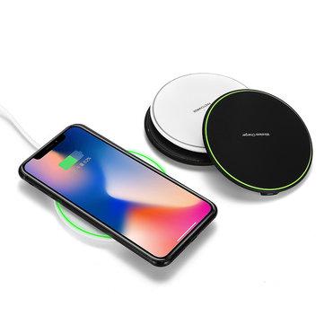 Qi Беспроводное зарядное устройство 10W Быстрая зарядная док-станция для Samsung Примечание 9 для iPhone XS