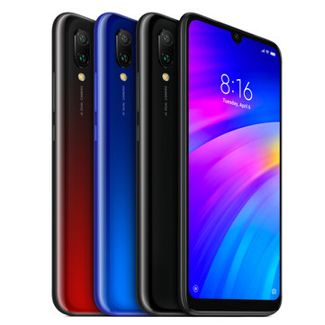 Xiaomi Redmi 7 Global Version 6.26インチデュアルリアカメラ3GB RAM 64GB ROM Snapdragon 632 Octa core 4Gスマートフォン