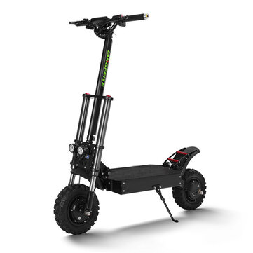LANGFEITE T8 1200Wx2 Dual Motor 26Ah 11inch Folding Electric Scooter Top Speed 70 km or h Max.Load 150kg Double Brake System EU Plug