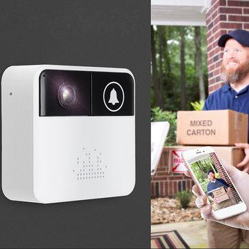 Wireless WiFi Intercom Smart HD Video DoorBell Camera Phone Home Ring Bell