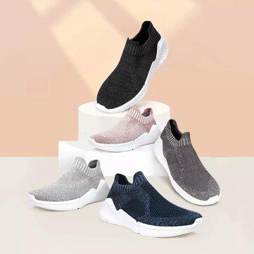 FREETIE Antibacterial Waterproof Mens Sneakers Ultralight Breathable Comfortable Sports Walking Running Shoes