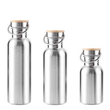350ML 500 ML 750 ML in acciaio inossidabile Vacuum Bottle Bocca larga Sport acquatici Bollitore BPA Free