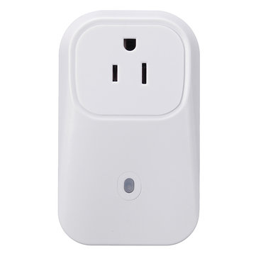M.Wayu00ae EU/US/UK Plug Wifi Cell Phone Wireless Remote Control Switch Timer Smart Power Socket