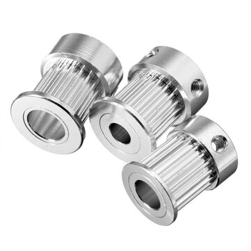 5MM/6.35MM/8MM Bore 20TeethGT2  Alumium Timing Pulley For Width 10mm GT2 Belt