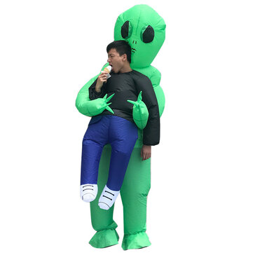 $21.87 for Inflatable Toy Costume Carnival Party Fancy ET Aliens Clothing For Adults Free Shipping