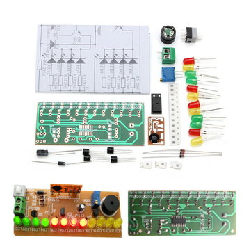DIY CD4060 SMD Music LED Light Kit Electronic Experimental Training Teaching