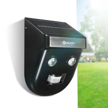 [2019 Third Digoo Carnival] Digoo DG-SSR-1 Gardening Solar Wireless PIR Sensor Long Distance Waterproof Outdoors Wall Light