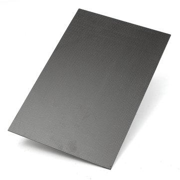 Suleve™ CF20305 3K 200×300×5mm Plain Weave Carbon Fiber Plate Panel Sheet  Aircraft Model Building