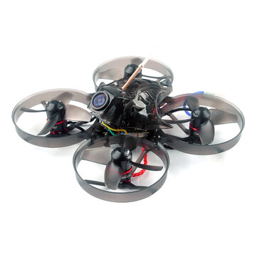 Happymodel Mobula7 V2 75mm Crazybee F4 Pro V2 2S Whoop FPV Racing Drone w/ Upgrade BB2 ESC 700TVL BNF - Standard Version Compatible Frsky Non