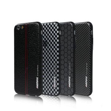 Remax Ultra Thin Gentleman Business Style PC TPU Bak Deksel Deksel Beskyttende Shell For iPhone 6 6S