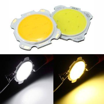 3W DIY LED COB Chip High Power Bead Light Bulb Lampu Putih / Hangat Putih DC9-12V