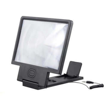 Bakeey 3D Eye Protection  HIFI Sound HD Enlarged Screen Magnifier Holder for Cell Phone
