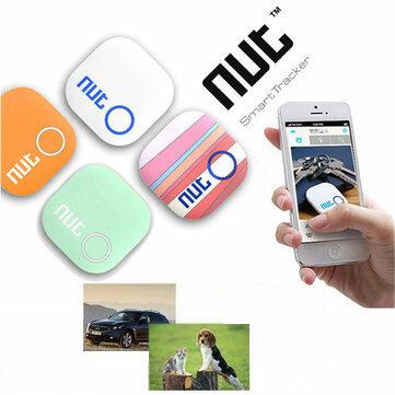 Mini Smart Patch Alarm Tag Bluetooth Nut 2 Tracker Locator Anti Lost Key Finder för iPhone Android etc