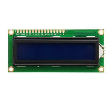 1Pc 1602 Karakter LCD-scherm Module Blauwe achtergrondverlichting voor Arduino