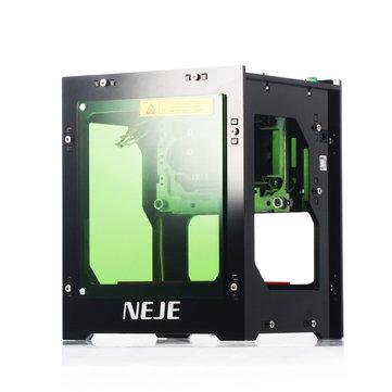 NEJE DK-8-KZ 3000mW 445nm Blue Laser USB Desktop Engraver Engraving Machine Intelligent APP Scanner Windows System