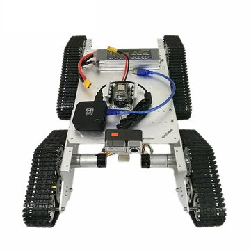T900 4WD WIFI Video Metal Wall-E Smart Track Chassis Tank Car DIY  Kit With HD Camera