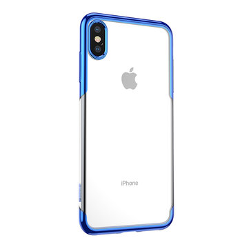 "Baseus Clear Plating Anti-yellowing Soft TPU Protective Case For iPhone XS Max 6.5"" 2018"
