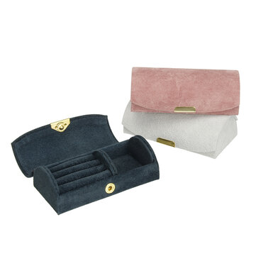 Buy Arch Suede Watch Box Portable Jewelry Storage Bracelet Earrings Box with 11 on Gipsybee.com