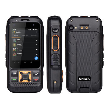 UNIWA F30S Dual Version Zello Walkie Talkie Smartphone FDD-LTE 4G GPS 1GB+8GB Android 8.1 Quad Core Dual Camera 4G Network Phone