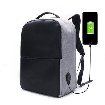 Ekphero® メンズ  盗難防止   バックパック 防水   トラベル   バッグ USB充電ポート付き