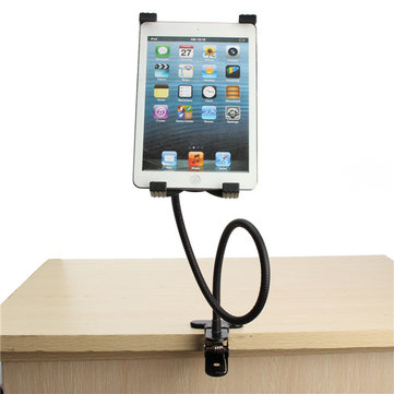 Gooseneck 360u00b0 Rotating Lazy Bed Desk Stand Phone Holder Bracket Mount iPad 2/3/4 Air 5''-9.5'' Tablet PC