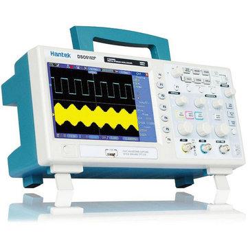Almacenamiento digital USB Hantek DSO5102P Osciloscopio 2 canales 100MHz 1GSa / s
