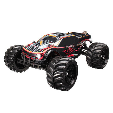 $300.99 JLB Racing CHEETAH 120A Upgrade 1/10 Brushless RC Car Monster Truck 11101 RTR With Battery