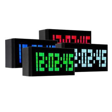 Big Jumbo Zegar cyfrowy LED Duży wyświetlacz ścienny Zegar wielofunkcyjny Kalendarz stołowy Despertador