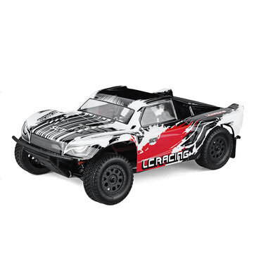 LC Racing EMB SC 1 or 14 2.4G 4WD Brushless Short Course RC Car High Speed Vehicle Models RTR