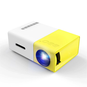 YG_300 LCD LED Projector 400_600 Lumens 320×240 800:1 Support 1080P Portable Office Home Cinema