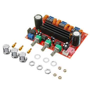 TPA3116D2 2.1 Dijital Ses Amplifikatör Kurulu Subwoofer Hoparlör Amplifikatör s DC12V-24V 2x50 W + 100 W