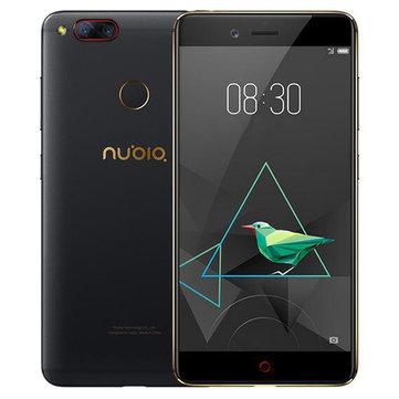 ZTE Nubia Z17ミニデュアルリアカメラ5.2インチ4GB 64GB Snapdragon 652 Octaコア4Gスマートフォン