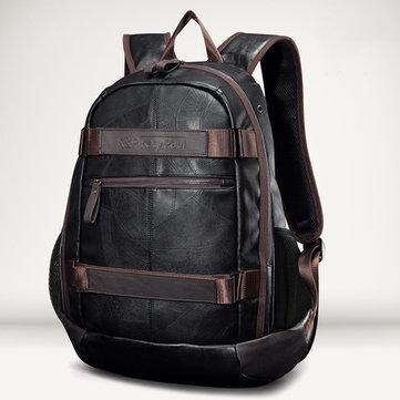 Мужская искусственная кожа На открытом воздухе Модная сумка для ноутбука с большой емкостью Сумка