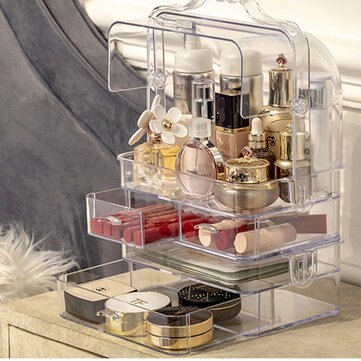 Acrylic Makeup Organizer Clear Cosmetic