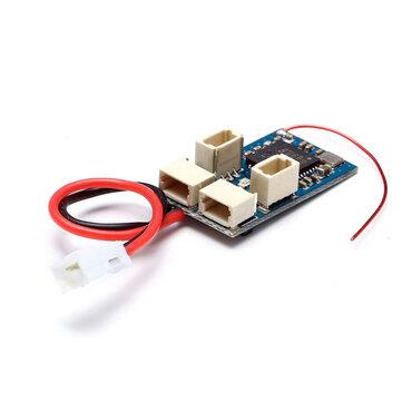 2.4G 4CH Micro Điện áp thấp DSM2 DSMX Bộ thu tương thích Tích hợp ESC