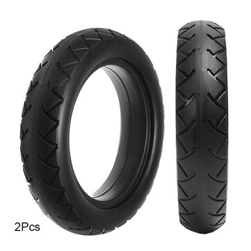 BIKIGHT 2Pcs Micropores Vacuum Solid Tires for Xiaomi Mijia M365 Electric Scooter