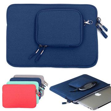 O caso de manga de computador portátil de caderno transporta o abrigo de bolsa de bolsa da pastilha de 12 polegadas