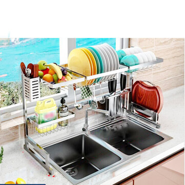 Buy Kitchen Storage Rack Multilayer Plastic Storages Household Arrangement for Kitchen Dishes with Litecoins with Free Shipping on Gipsybee.com