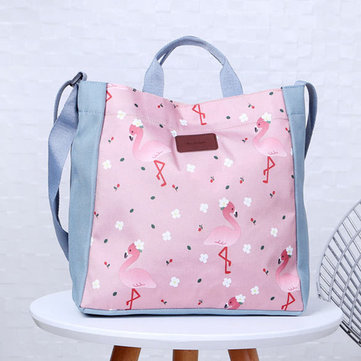 Sweet Printed Buckle Portable Crossbody Bags Handbags For Women