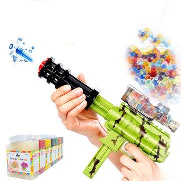20000 Pcs 7-8mm Gel Bola Kristal Air Beads Bagian Untuk Tanaman Nerf Bunga Kristal Tanah Lumpur