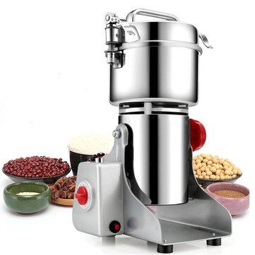 700g Electric Grains Spices Hebals Cereal Dry Food Grinder Mill Grinding Machine Blender