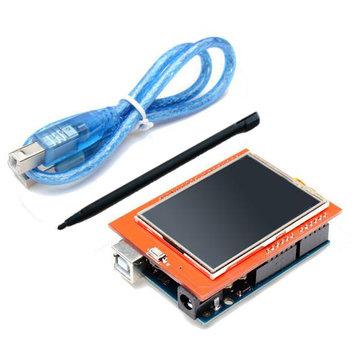 Geekcreit™ UNO R3 ATmega328P Board + 2.4 Inch TFT LCD Touch Screen Module For Arduino