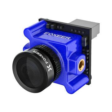 फॉक्सियर राक्षस माइक्रो प्रो 1.8 मिमी 16: 9 1200TVL पाल / एनटीएससी डब्लूडीआर कम लेटेंसी एफपीवी कैमरा